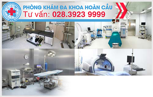 Môi trường Phòng Khám Đa Khoa Hoàn Cầu - Địa chỉ điều trị nứt hậu môn uy tín