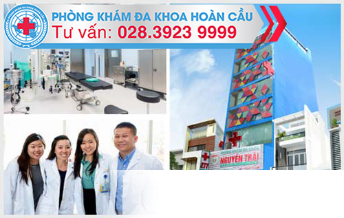 Phòng Khám Hoàn Cầu với nhiều trang thiết bị